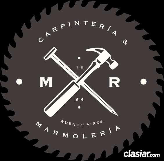 Marmoleros y carpinteros a domicilio en villa urquiza 1562710460