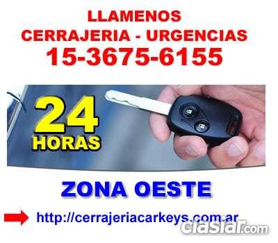 Cerrajeria 24hs en san miguel telef *15-36756155* zonaoeste