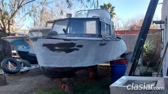 Liquido crucero de 6.40 mts a terminar de restaurar $ 60.000.