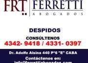 Despidos  Paternal Contacto al (4342 9418)