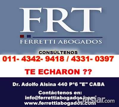 Abogados laboralistas recoleta contactese *43429418*