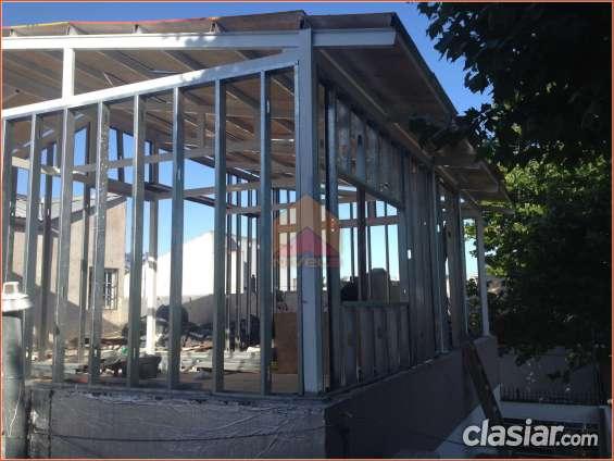 Construcción en seco, steel framing, estructuras metálicas, refuerzos, etc.