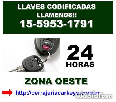 Llaves codificadas de autos en san isidro telef *15-59531791* zna san martin