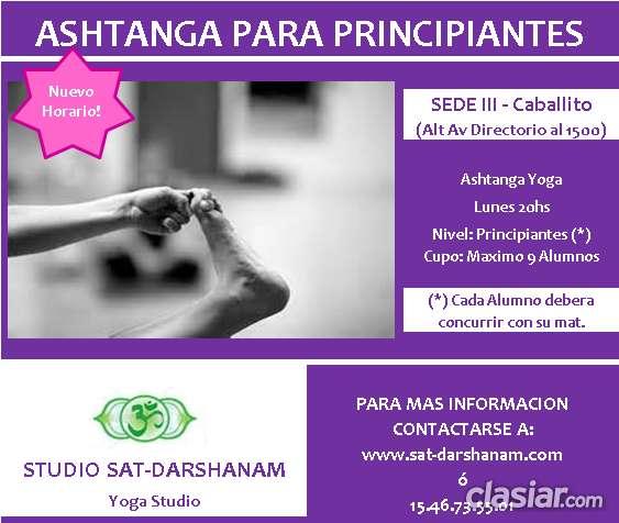 Yoga iyengar y ashtanga en caballito (studio sat-darshanam)