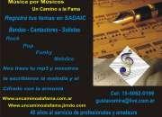 Registra tu tu tema musical en SADAIC