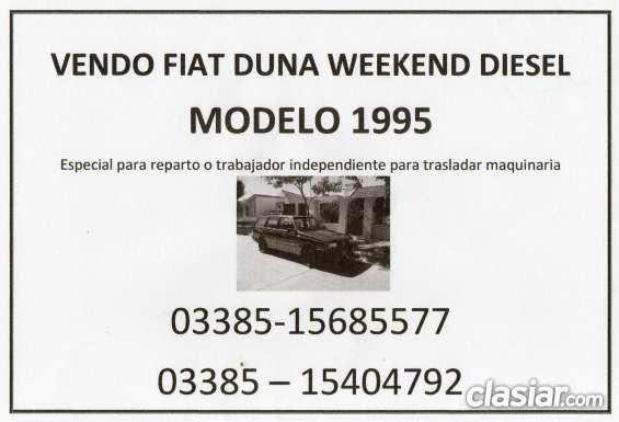 Dueño vende fiat weekkend diesel
