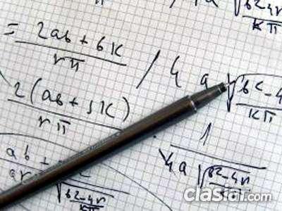 Fotos de Clases particulares de apoyo en matemática, física, biofísica y química 4