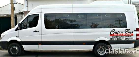 Minibuses para viajes a todas las provincias ,
