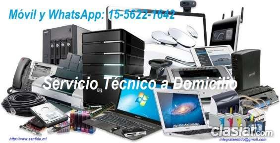 Reparacion computadoras a domicilio (15-5622-1642)