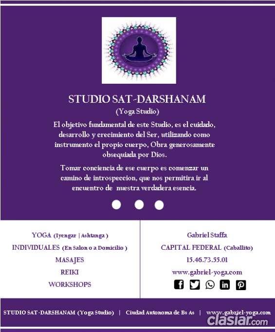 Clases de yoga 2018 (studio sat-darshanam)