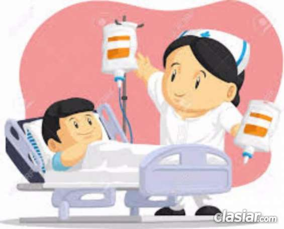 Acompaño enfermos en clínicas