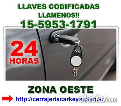 Cerrajeria de autos zna ituzaingo contactese *15-5953 1791*