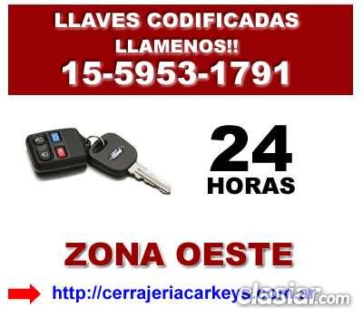 Cerrajeria automotor en haedo contactese [15-5953 1791]
