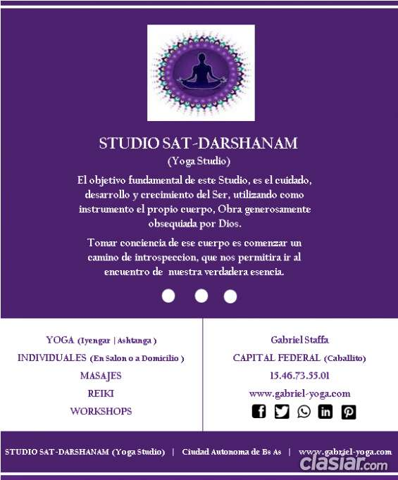 Ejercicios de yoga para la 3ra edad (studio sat-darshanam)