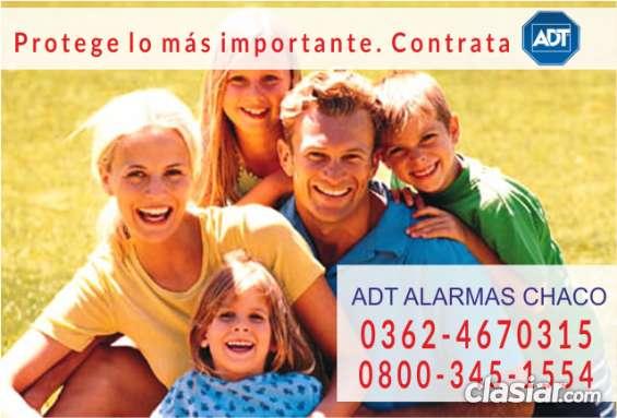 Adt alarmas en chaco  0362-4670315
