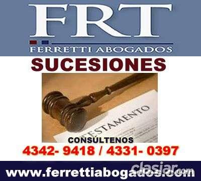 Abogados especialistas en sucesiones recoleta tfno 4331-0397
