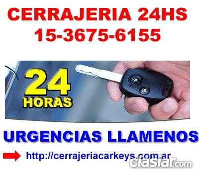 Cerrajeria 24 hs en moron telef 1536756155