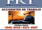 estudio juridico accidentes de transito CASEROS Tfno [4342 9418]