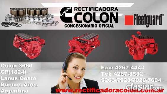 Rectificadora colon: rectificación de motores para colectivos
