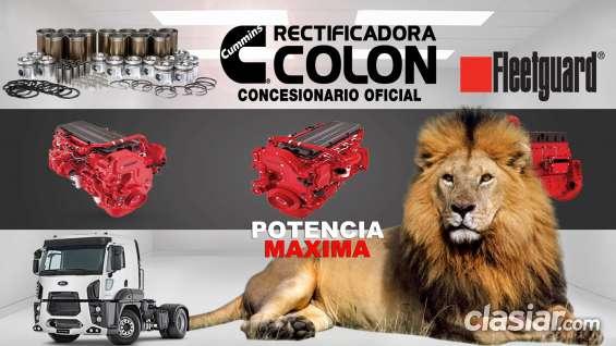 Rectificadora colon: rectificación de motores para camiones