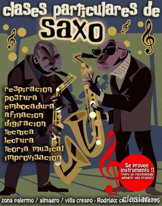 Clases de saxo en palermo/almagro/villacrespo!