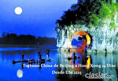 Turismo china de beijing a hong kong