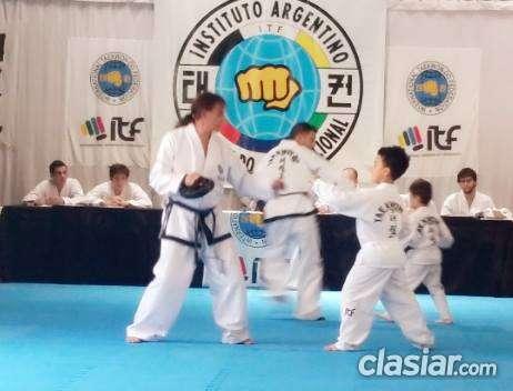 Taekwondo kids itf villa urquiza niños y niñas de 4 a 8 años (clasiar)