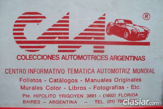 * manual de despiece total ford falcon & fairlane ltd -500 * 1962-1991 + edito ford motor