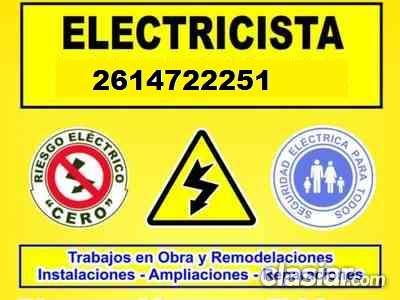 Electricista urgencias las 24 hs