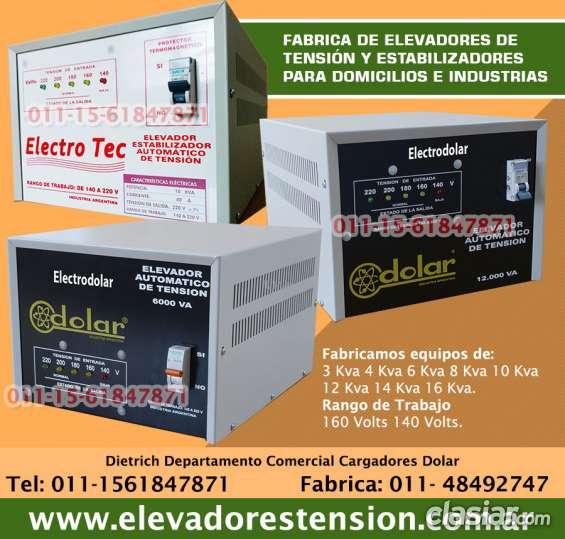 Elevador automático de tensión 14 kva (r 140v) estabilizador tfno 0114849-2747