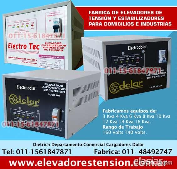 Estabilizador de tensión de 16 kva tfno 011-4849-2747