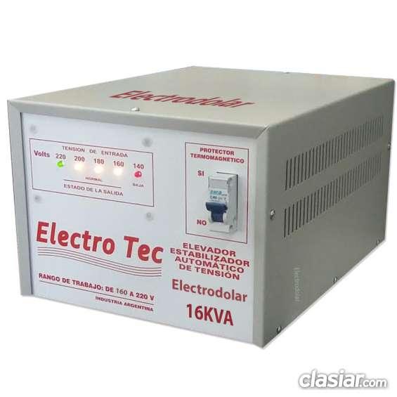 Elevador de voltaje 16 kva tfno 011-4849-2747