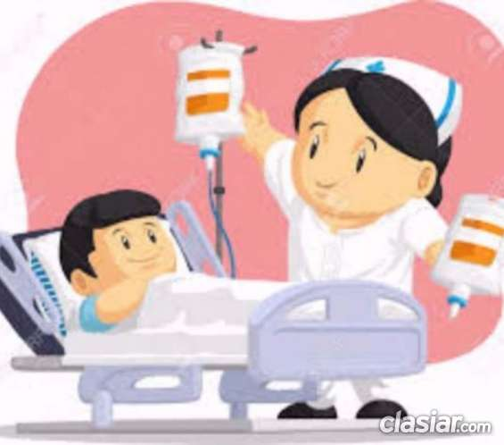Acompaño enfermos en sanatorios y hospitales