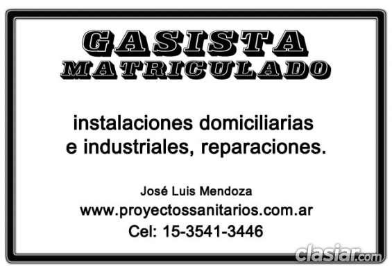 Gasista matriculado capital seguridad y precios accesibles 15-3541-3446