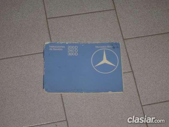 Manual mercedes benz w123 diesel