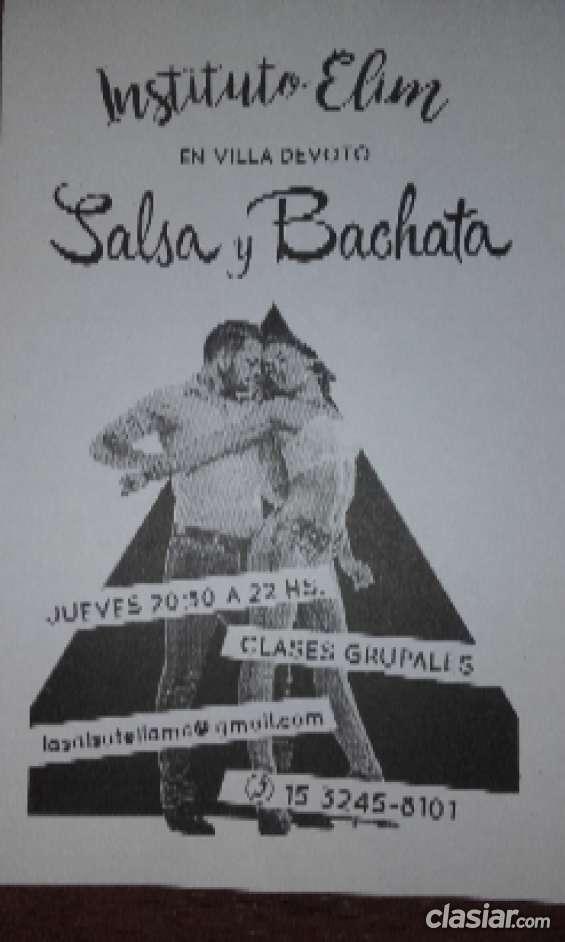 Profesorado intensivo particular de salsa y bachata