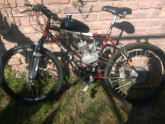 Vendo bicimoto cuadro de montain bike