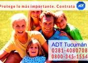 Alarmas monitoreadas 0381-4080708 ADT 0$ Instalación !!!