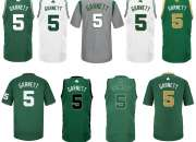 Camiseta Boston Celtics Garnett Verde