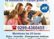 ADT -  Alarmas para casas en Neuquén  0299-4360455  0$ Instalación !!!