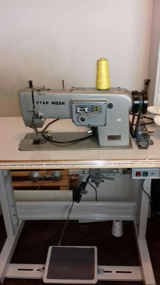 Vendo maquina  de coser zig-zag industrial nueva impecable motor 2800 - cel:  156876-4513