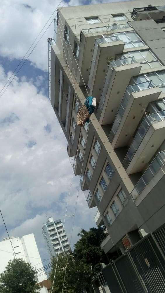 Trabajos con sogas en altura