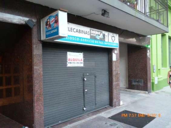 Alquiler de local en scalabrini ortiz 1332