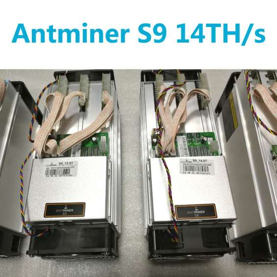 Bitmain antminer s9 14th/s con apw3++ psu