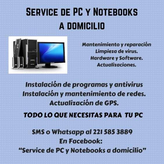 Reparacion computadoras/notebooks/netbook (la plata). instalacion y mantenimiento de redes