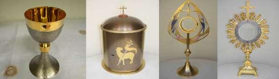 Fotos de Calices, coronas para virgenes, sagrarios, orfebreria religiosa en buenos aires, 2